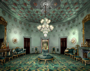 White House Blue Room Rendering by Nicholas Buccalo