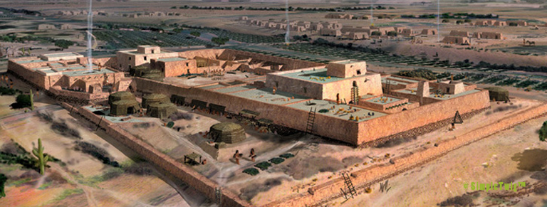 [rendering] Reconstruction of Pueblo Grande