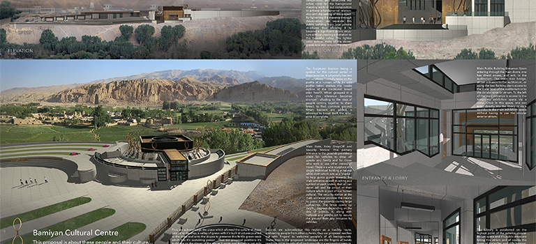 [architecture] Bamiyan Cultural Centre 1/3
