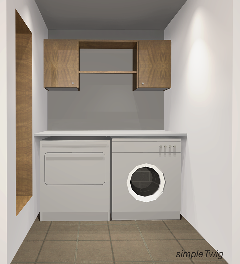 Laundry Room Prototype by SimpleTwig