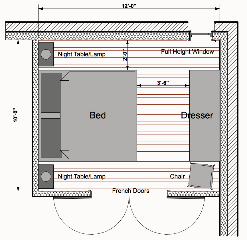 Minimum Adult Sized Bedroom Closet Analysis Architect S Blog
