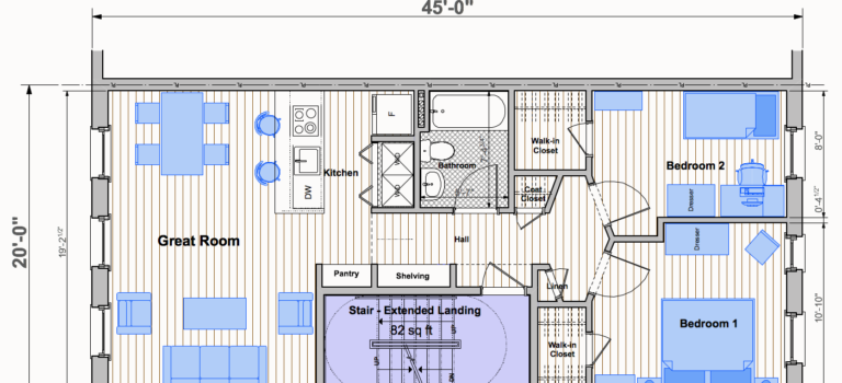 Analysis Of Residential Stair Configurations For Townhouses